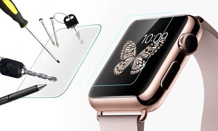 Hasta 4 protectores de pantalla con cristal templado para Apple Watch