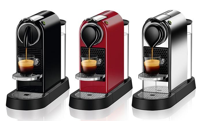 Nespresso CitiZ Espresso Makers And Bundles