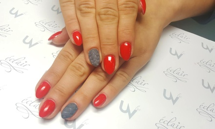 Gel Manicure or Manicure and Pedicure at JusNails (Up to 50% Off)