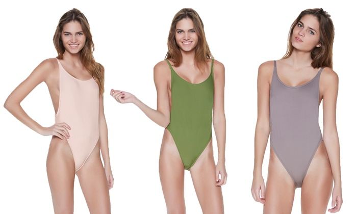 4d20976fd4a9a Dippin' Daisy's Juniors' High-Cut Vintage One-Piece Swimsuit | Groupon