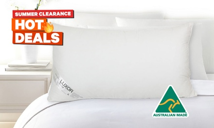King Size Hotel Quality Pillow: One ($22) or Two ($35) (Don't Pay up to $129)