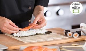 Escola de Gastronomia Rio de Janeiro: Workshop de culinária japonesa para 1 ou 2 pessoas na Escola de Gastronomia Rio de Janeiro – Copacabana