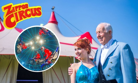 Zippos Circus, Side View Ticket, 5–31 July, Six Locations
