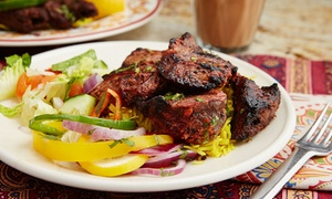 Castlegate Indian Restaurant: Two-Course Indian Meal with Side for Two or Four at Castlegate Indian Restaurant (Up to 49% Off)