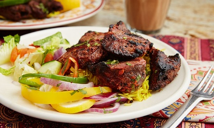 Two-Course Indian Meal with Side for Two or Four at Castlegate Indian Restaurant (Up to 49% Off)