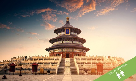 ✈ China: From $1,588 Per Person for an 11-Day Pursuit of Panda 4*/5* Tour with Flights, Meals and Transportation
