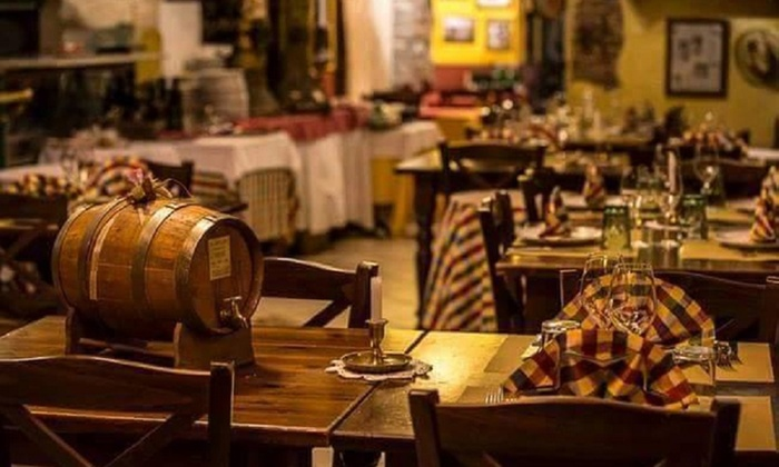 Menu completo della casa con vino taverna del vin vino - Taverna di casa ...