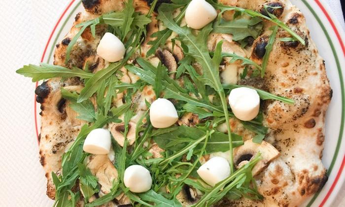 Pizza Oskian - Paris: Pizza au choix avec bière ou dessert ou pâtes avec dessert pour 2 personnes dès 9,90 € au restaurant Pizza Oskian