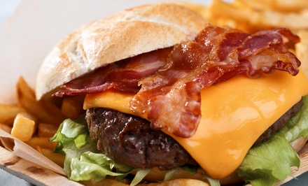 $12 for $20 Worth of Casual American Food for Carry-Out or Dine-In at Slider's Diner