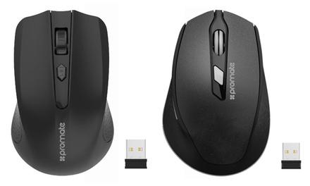 Mouse wireless Promate disponibile nei modelli Clix-6 o Clix-8