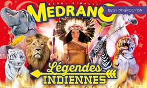 Cirque Medrano: 1 place en tribune d'honneur pour l'une des représentations du Cirque Medrano à 10 € à Toulouse