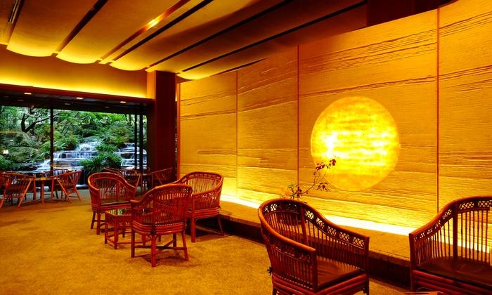 西村 屋 ホテル 招 月 庭