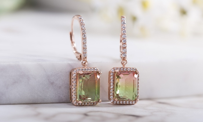 c9ea81a70aa36 Up To 26% Off on Lesa Michele Drop Earring | Groupon Goods