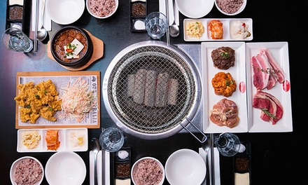 Korean BBQ Combo Menu Lunch or Dinner for Four People ($79) at BBQ By Korea (Up to $155 Value)