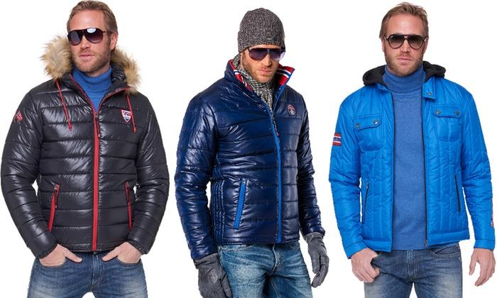 c89a59f6cc8b0 Doudounes et blouson homme Nebulus, modèle au choix   Groupon Shopping