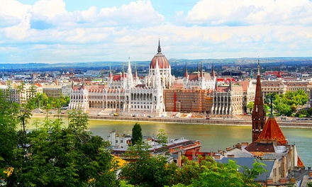✈ Prague, Vienna and Budapest: 69 Nights at a Choice of Hotels with Flights and Train Transfers Between the Cities*