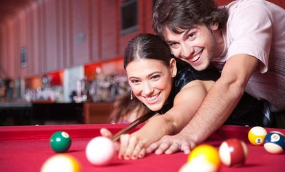 image for Two Hours of Snooker with Chips and a Soft Drink for Two or Four at Snooker Club and Bar