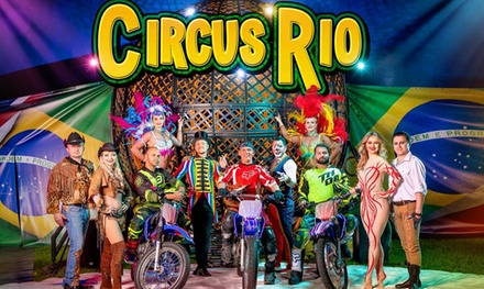 Single Grandstand or Family Side View Entry to Circus Rio 2019, 4 September 6 October, Five Locations