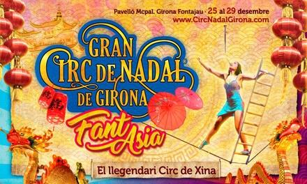 Entrada al Gran Circo de Navidad de Girona del 25 al 28 de diciembre (hasta 41% de descuento)