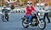 Motorcycle University - Mission - Foothill: $49 for a Three-Hour Introductory Motorcycle Riding Lesson at Motorcycle University ($99 Value)