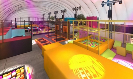 Trampoline Park Entry with Jump Socks for One or Two at Xtreme Bounce (Up to 30% Off)