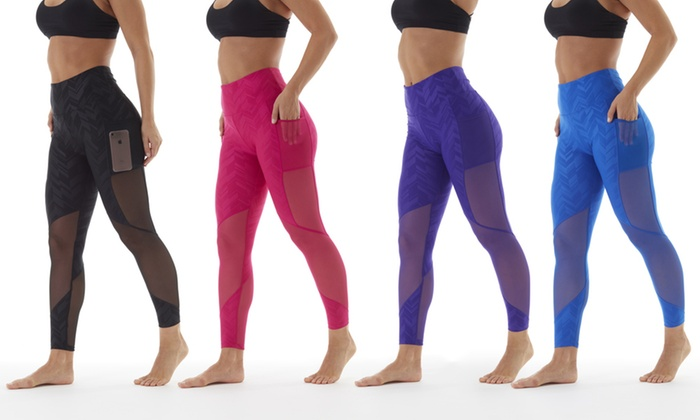 buy sale usa cheap sale best supplier Bally Fitness Women's High-Waist Power Tek Leggings with ...