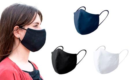2, 4 o 6 máscaras faciales