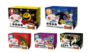 Flashback Blast Plug-And-Play Wireless Controllers & Built-In Games