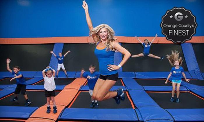 Sky Zone Anaheim Indoor Trampoline Park - Anaheim: Two-Hour Weekday or Weekend Open-Jump Session at Sky Zone Anaheim Indoor Trampoline Park (Up to 52% Off)