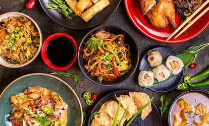 Thai Feast with Wine for Two or Four at My Thai (52% Off)