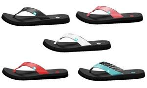20aa75f1e79d2 Riverberry Yoga Women s Premium Flip Flops with Yoga Mat Padding