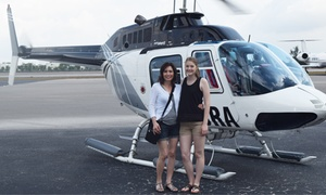 Miami Jet Helicopter Tours: Taste of Miami, Golden Beaches, or Grand Miami Tour for One from Miami Jet Helicopter Tours (Up to 37% Off)