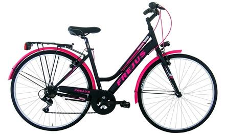 City Bike Masciaghi da donna con telaio in acciaio