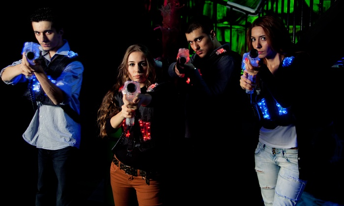 Three Laser Tag Games for One ($10) or Ten People ($95) at Underworld Laser (Up to $300 Value)