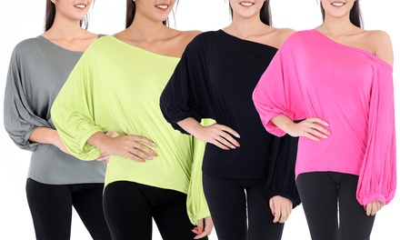 Batwing Jersey Top