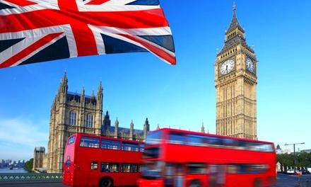 Londres: Curso de inglés de 1, 2, 3 o 4 semanas por persona con opción a alojamiento