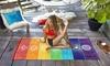 Rainbow Chakra Beach Towel