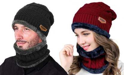 Negozio Groupon Completo scaldacollo e cappello 0a9358e42082