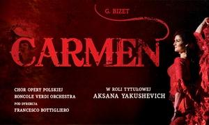 Agencja Artystyczna Pro Musica: Od 59 zł: bilet na widowisko operowe Carmen – 4 miasta
