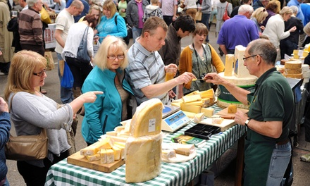 East Midlands Food Festival on 5–6 October in Melton Mowbray