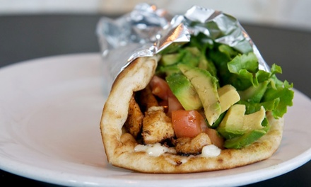 $11 for Two Groupons, Each Good for $10 Worth of Mediterranean Food at My Three Sons ($ Value)