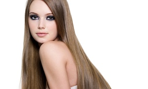Beehive Salon: Brazilian Keratin Treatment or Balayage at Beehive Salon (Up to 51% Off). Two Locations.