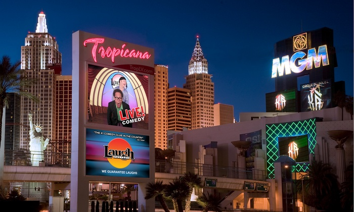 Laugh Factory Las Vegas Tropicana Standup Comedy Show Through January 27