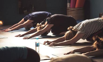5 ou 10 cours au choix pour 1 ou 2 personnes dès 19,90 € avec Yoga Moov