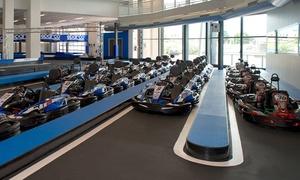 LARIO MOTORSPORT: Corsa in kart di 10 o 20 minuti o Grand Prix per 5 o 10persone da Lario Motorsport (sconto fino a 38%)