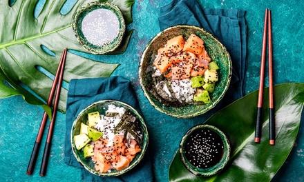 Menú para llevar de poké bowls para 2 o 4 personas en Okinawa Sushi (hasta 60% de descuento)