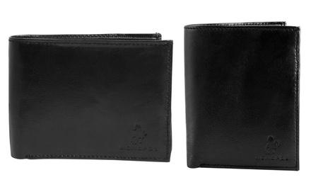1 ou 2 portefeuilles de la marque Monopol en Cuir de vachette, modèle au choix dès 12,90 €