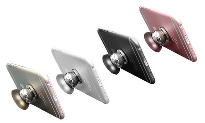 One or Two Universal Magnetic Smartphone Car Mounts from £4.49