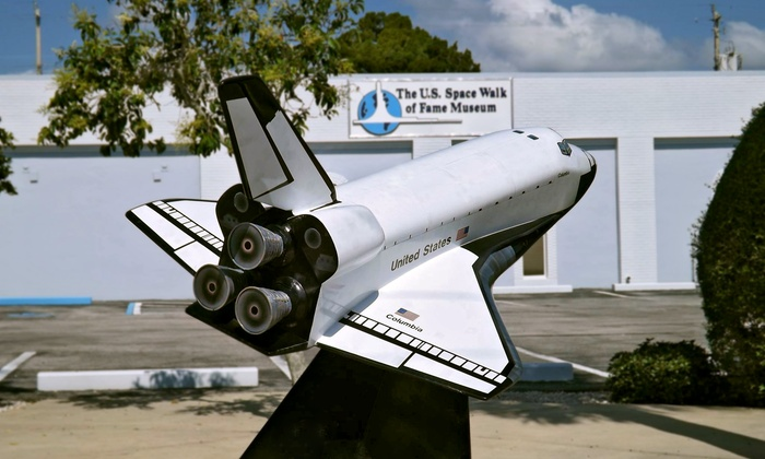US Space Walk of Fame Museum - Titusville: Entry for Two or Four to the US Space Walk of Fame Museum (Up to 52% Off)