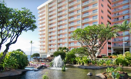 Groupon Deal: 3-Night Stay for Two in a One-Bedroom Ocean- or Scenic-View Suite at Ka'anapali Beach Club in West Maui, HI